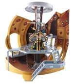 Dr Who Tardis Diorama Playset