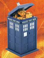 Dr Who Tardis Cookie Jar with light and SFX