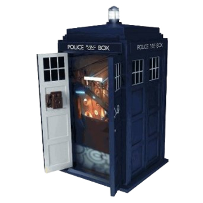 Dr Who Tardis Talking Money Bank with SFX