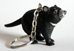 Tasmainian Devil Key Ring 4.0cm Tall