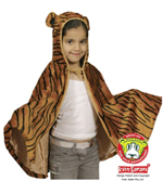 Kids Safari Tiger Cape