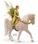 Schleich - Tinuveel Elf Riding Set Mounted Sun Elf - 42044