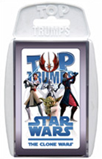 Star Wars - Top Trumps THe Clone Wars Collector Special Cards
