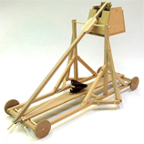 Medieval Trebuchet Wooden Construction Kit