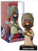 Star Wars Tusken Raider Wacky Wobbler Bobble Head