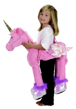 Kids Safari Wrap'n'Ride Pink Unicorn