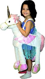 Kids Safari Wrap'n'Ride White Unicorn