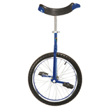 "Unicycle - Blue - 16"" Wheel"