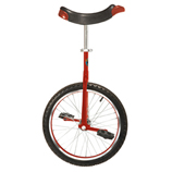 "Unicycle - Red 20"" Wheel"
