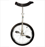 "Unicycle - Chrome - 16"" Wheel"