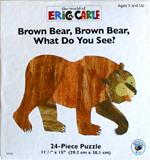 Eric Carle Puzzle - Brown Bear, Brown Bear, What do you See?