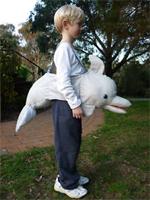 Kids Safari Wrap'n'Ride Dolphin