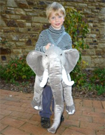 Kids Safari Wrap'n'Ride Elephant