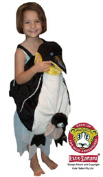 Kids Safari Wrap'n'Ride Emperor Penguin