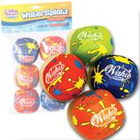Wahu Fun Soak & Splat Water Balls - Watersplatz - Pack of 6.