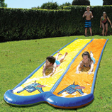 Wahu Pool Party Mega Slide Double 7.5 mtrs Long Pool Slide