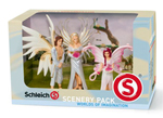 SCHLEICH - BAYALA -  Elf Wedding Scenery Pack  - Sireel, Solfur & Flower Girl - 41809