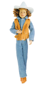 Western Riding Outfit - Blue