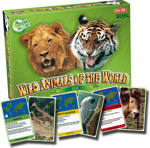 Wild Animals of the World - Card Quiz Game