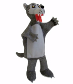 The Big Bad Wolf - Character Hand Puppet