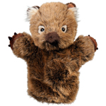 Wolly Wombat Hand Puppet