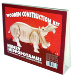 Wooden Henry the Hippo Construction Kit