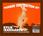 Wooden Kylie Kangaroo Construction Kit