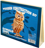 Wooden Oswald the Owl Construction Kit