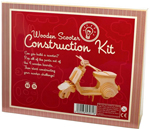 Wooden Scooter Construction Kit