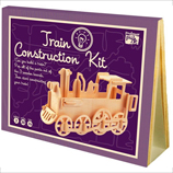Wooden Train Construction Kit
