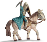 Schleich - Xarok Armoured Knight on Warhorse - 70060