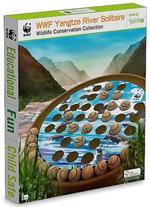 WWF Yangtze River Solitare - Wooden