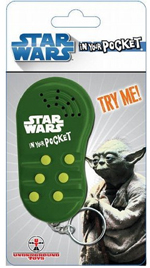 Star Wars - Yoda In Your Pocket Keychain