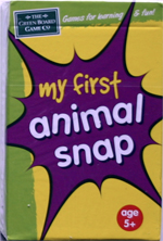 My First Animal Snap Card Game