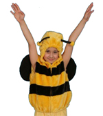 Kids Safari Bumble Bee Hooded Jacket