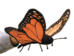 Folkmanis - Butterfly Hand Puppet