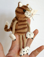 Finger Puppet - Mogs the Cat