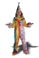 Kids Safari Clown Costume