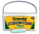 Sidewalk Chalks by Crayola 52pcs