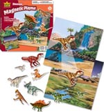 Playmat Magnetic Dinosaur