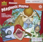 Funny Faces Magnetic Dinosaur Playmat