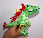 Finger Puppet - Dragon Green