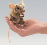 Folkmanis - Field Mouse Finger Puppet