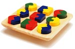 Geo-Shape Puzzle Board