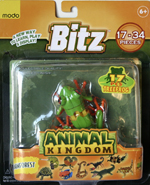 Bitz™ Animal Kingdom - Green Tree Frog 17 pcs