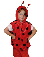Kids Safari Ladybird Hooded Jacket