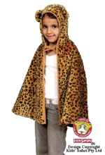Kids Safari Leopard Cape