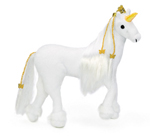 Mystique™ the White Unicorn 24cm