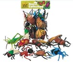 Polybag of Ten Detailed Moulded Insects
