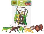 Polybag of Five Assorted Reptiles.